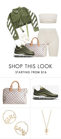 """""""Untitled #114"""" by lovlieee ❤ liked on Polyvore featuring Louis Vuitton, NIKE and BP."""