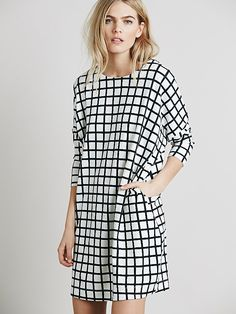 Free People Hannah Printed Knit Dress, $148.00