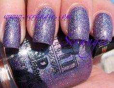 "Milani Holographic ""Hi-Res"" -- purple holographic"