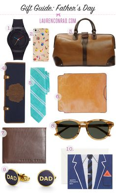 The LaurenConrad.com Father's Day Gift Guide