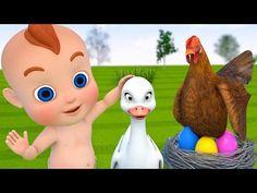 Learn Colors Learn Eggs Baby Boong Animals W Cartoon Baby Nursery Rhymes. Kids Nursery Rhymes, Rhymes For Kids, Eggs For Baby, Baby Shower Dresses, Baby Cartoon, Learning Colors, Hand Embroidery Designs, More Fun, Crochet Baby