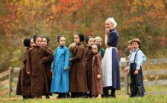 Amish communities.