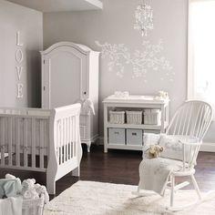chambre blanche bebe et gris elephant boudoir