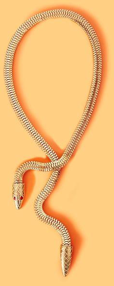 Nasty Gal Cobra Necklace in Gold #amazingjewelry