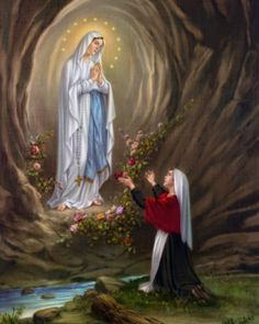 NOVENA  Preliminary Prayer  to be said each day      Be blessed, O most pure Virgin, for having vouchsafed to manifest your shining with ...