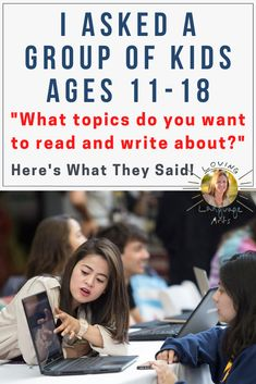 Straight from the mouths of kids - ideas about how to make learning more high-interest in English language arts by choosing reading and writing topics upper elementary, middle school, and high school ELA students are curious about. Bring out the best behavior in your middle schooler pre-teens and teens. Middle School Ela, Middle School English, Middle School Teachers, High School, English Language, Language Arts, 8th Grade Ela, Writing Topics, Student Reading