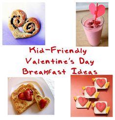 Kid-friendly Valentine's Day Breakfast Ideas