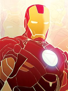 Iron Man Armor Vector Prin by Abby Sevilla