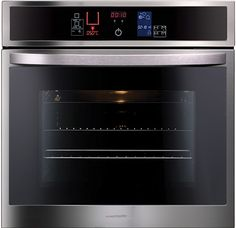 This oven fits the contemporary styled kitchen perfectly as its controls are not knobs but instead they are flat buttons almost like a touch screen, This is the type of easily manageable technology that should be used in a modern day kitchen. Contemporary Kitchen Design, Contemporary Style, Recipe For Fairy Cakes, Buttercream Icing, Oven, Easy Meals, Kitchen Appliances, Baking, Recipes