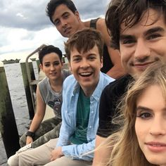 """Alex Esola on Twitter: """"Impossible not to smile when you're working with these guys. #scream"""