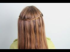 Waterfall Twist... {An easy trick to getting the same beautiful look as the ever-popular Waterfall Braid!}