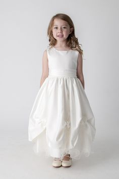 Ivory Rosebud Dress Bridesmaid Flower Girl First Holy Communion. available in other colours, please see our website. UK supplier ships worldwide.