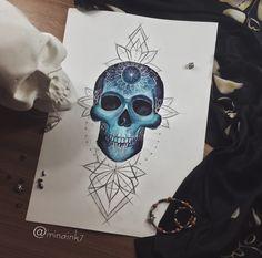 #tattoo #tat #tattoosketch #tattoosketches #tattooartist #art #artlife #artoftheday #artist #pic #picoftheday #picture #illustrator #illustration #illustrate #vsco #vscocam #color #watercolor #watercolortattoo #linework #line #mandala #skull #skullart #skulltattoo #skulltattoodesign