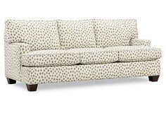 Love this sofa... It's the perfect addition to your lavender room!