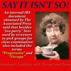 BOLO (Be On the Look Out) for Progressives! http://www.huffingtonpost.com/2013/06/24/danny-werfel-irs_n_3491835.html