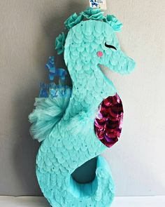 Little Mermaid Birthday, Little Mermaid Parties, Girl Birthday, Mermaid Pinata, Mermaid Diy, Birthday Pinata, Party Fiesta, Under The Sea Party, Halloween