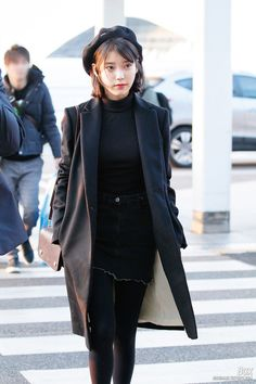 #iu #airportfashion