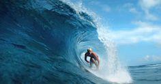como se ve una ola cuando pasa.