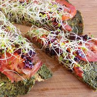Raw Pizza | This wonderful raw version is a delightful twist on a family favorite that everyone will love. Down to Earth Hawaii