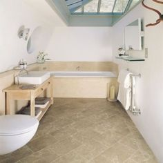 Small Bathroom Floor Ideas