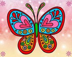mariposas caricatura coloridas - Buscar con Google