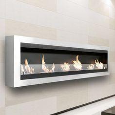 Moda Flame Verrazano Wall Mounted Ethanol Fireplace - Fireplaces at Hayneedle