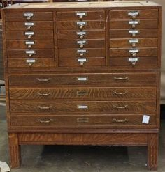 Globe Wernicke Oak Four Stack Fifty Two Drawer File Cabinet | Vintage Finds  | Pinterest | Globe, Drawers And Antique Furniture