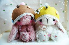 Japanese large anime bunny Tooti by Jenny Lee of jennylovesbenny artist bears PDF