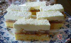 Nebíčko v tlamičce - křehké oříškové půlměsíčky Pina Colada, Dessert Recipes, Desserts, Vanilla Cake, Nutella, Sweet Tooth, Cheesecake, Food And Drink, Sweets