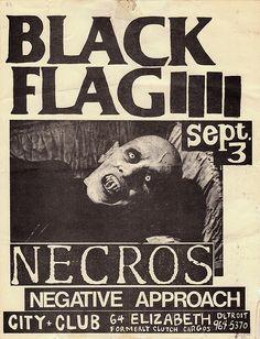 Black Flag flyer