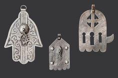 """Morocco, """"Khamsat (mains) ciselées motifs"""" (Collection Bouvier © Marc Bouvier)"""