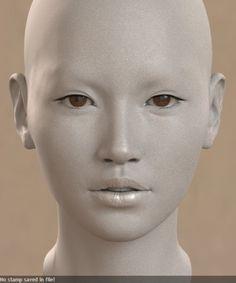눈동자 디퓨즈 넣고 스펙조절+톤 조절중 다음엔 기본 얼굴에 디퓨즈를 !