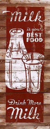 Milk ~ Fine-Art Print - Vintage Advertisements Art Prints and Posters - Vintage Advertisements Pictures Dairy Free Cheesecake, Dairy Free Brownies, Milk Facts, Dairy Free Biscuits, Dairy Free Chocolate Cake, Dairy Free Frosting, Milk The Cow, Dairy Cattle, Signs