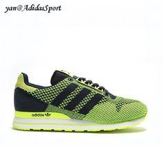 Men Adidas Originals ZX 500 OG Marine / Electrical / White Weave Shoes HOT SALE!HOT PRICE!