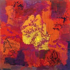 Per Kirkeby: New shadows V, 1996. Oil on canvas 63x63cm