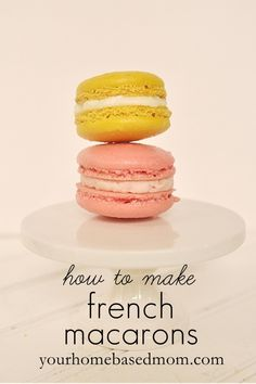 I have loved these since going to Switzwerland 15 years ago.  Must make and see if these french macarons taste as good.