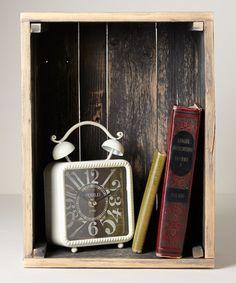 Look at this #zulilyfind! Dark Wash Small Crate #zulilyfinds