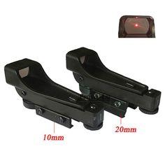 새로운 전술 리플렉스 레드 도트 사이트 범위 넓은 공기총 10/20 미리메터 위버 레일 Mounts1x20x30 Riflescope 장난감 총