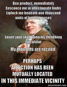 MusicMemes.com | Music Memes | Funny Pictures | Joseph Ducreux - Thinking Out Loud - Ed Sheeran