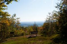 View from summit of Mt Philo, Vermont