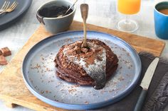 Brownie pancakes – SINNER SUNDAY