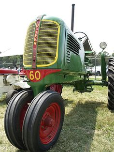 1940 Oliver 60 Row Crop Tractor - Oliver made some great tractors.