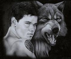 jacob black with wolf - Google zoeken