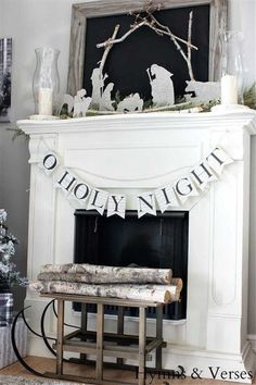 Check out Our 20 Favorite Mantel Decorating Ideas   Christmas Mantel Decor at http://diyready.com/our-20-favorite-mantel-decorating-ideas-christmas-mantel-decor/