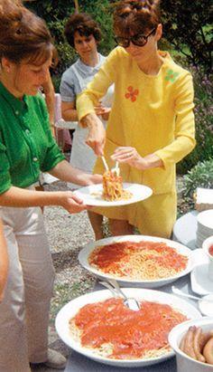 Audrey Hepburn's Spaghetti al Pomodoro recipe shared by her son Luca Dotti.