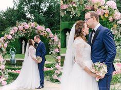 Chateu de la Hulpe Kasia Bacq Wedding Brussels Belgium La Perla Lingerie Robe, Hugo Boss tuxedo, Cartier jewelery wedding bands Castle Classical Wedding Jimmy Choo