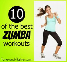 10 of the Best FREE Dance Workouts for Weight Loss | Tone and Tighten Zumba Fitness, Forma Fitness, Fitness Diet, Fitness Motivation, Health Fitness, Dance Fitness, Workout Fitness, Fitness Exercises, Zumba Workout Videos