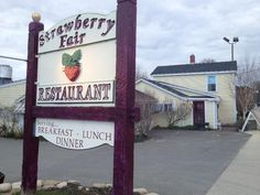 Congratulations to Strawberry Fair restaurant in Norwell for their anniversary in early December. Â Olde Hockomock Swamp, New England Farmhouse, Supper Club, Breakfast Lunch Dinner, 40th Anniversary, 40 Years, Boston, Congratulations, Berries