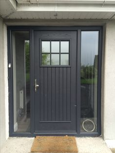 Palladio Dublin Door in Anthracite Grey