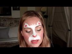 Super fast kitty/bunny face painting tutorial    Website:  www.illusionfaceart.com
